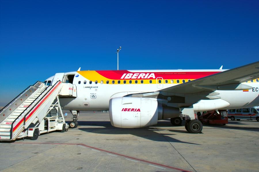 Самолет в испанию