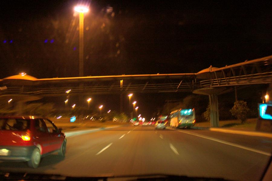 Мост через дорогу