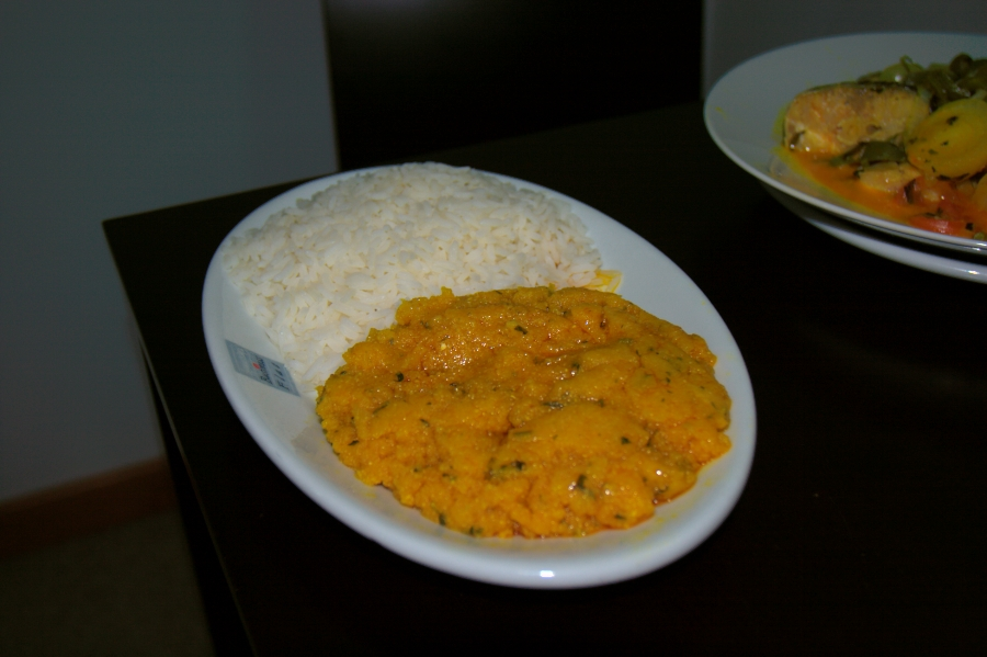 Rice and Pirão