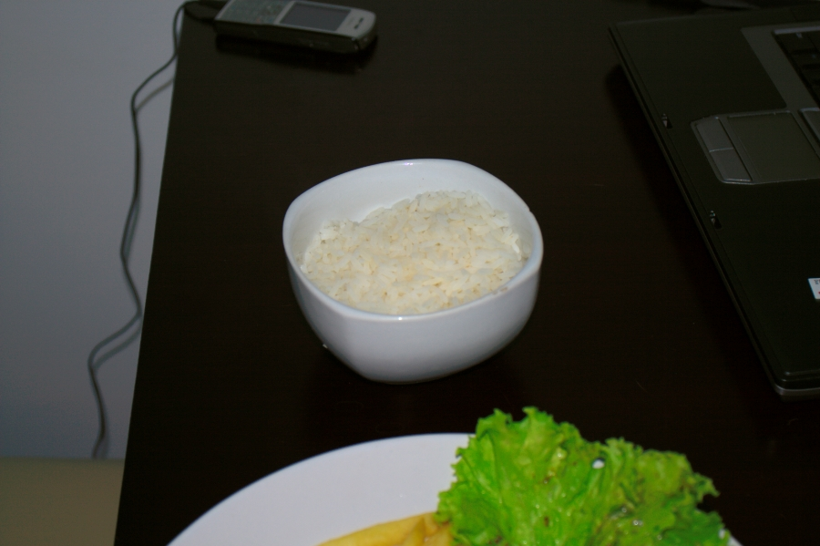 Rice for Grilled Steack
